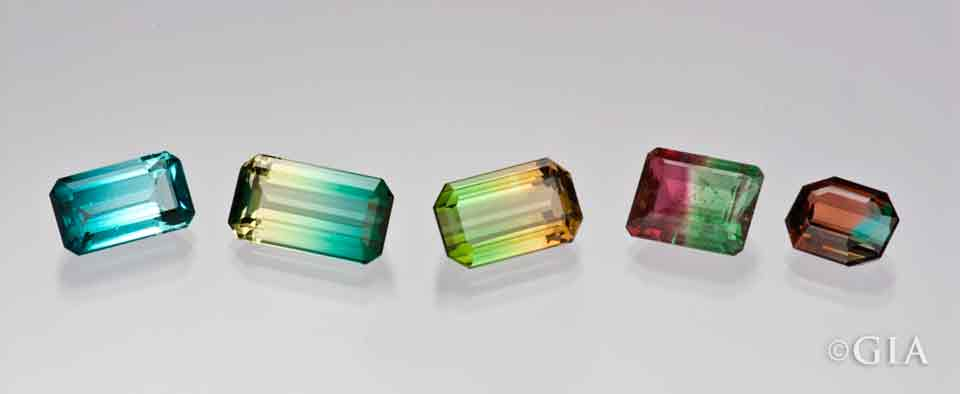 Colorful tourmalines from the dr eduard j gubelin collection
