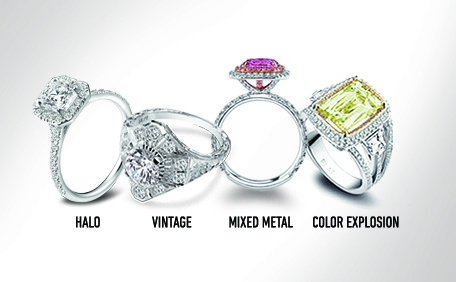 2013 Engagement Ring Trends: Beyond the Diamond Solitaire