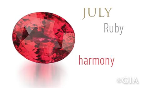 celebrates birthstones ruby the king of gems