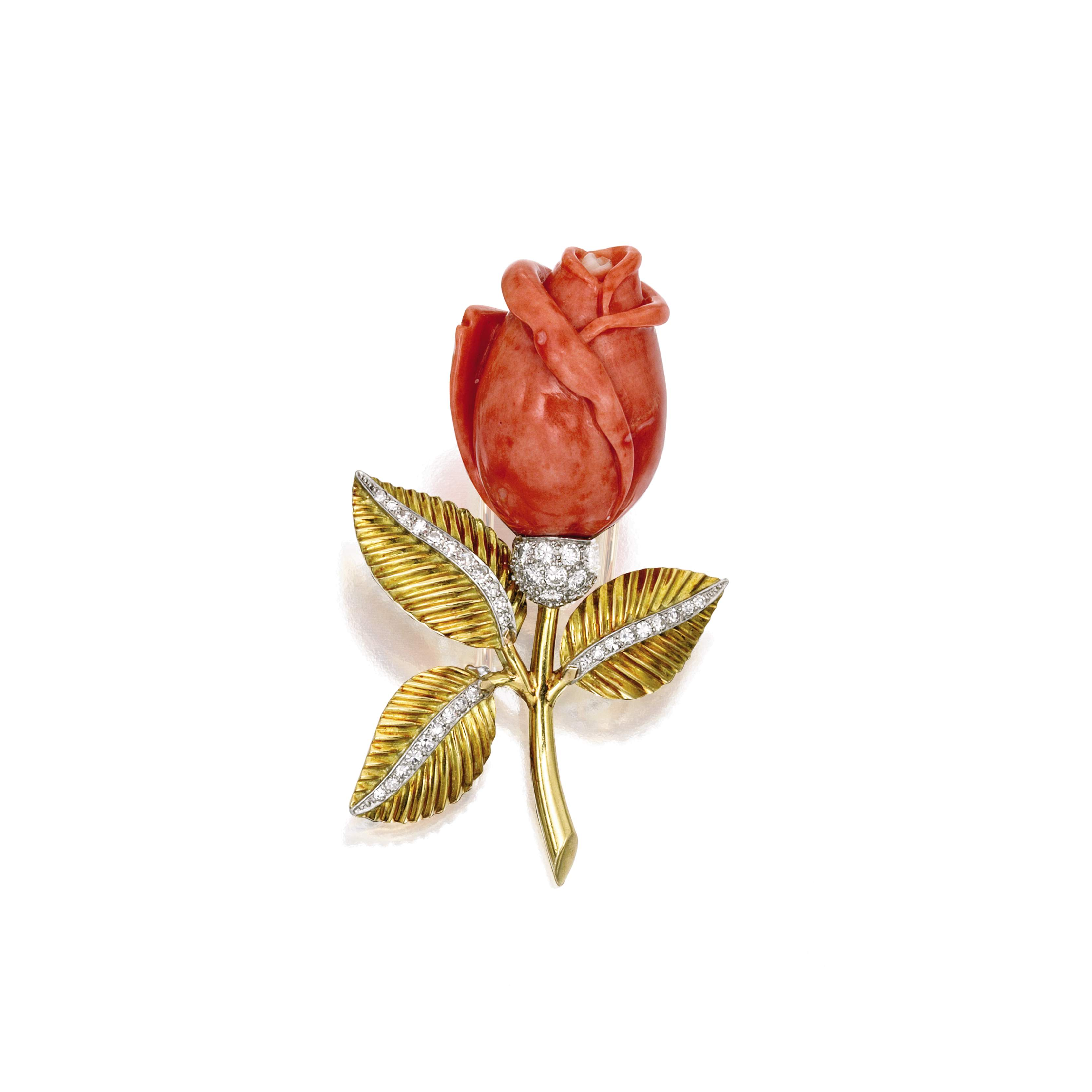 Vintage Coral Surprises At Fall Auctions Gia 4cs