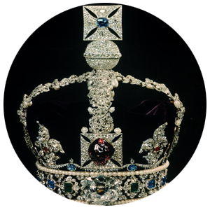 The Culllinan II, a 317.4-carat rectangular cushion cut, is set into the Imperial State Crown. - Courtesy Time & LIFE Pictures/Getty Images
