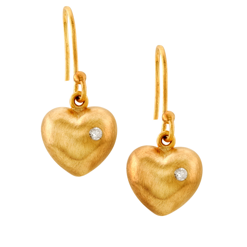 A (Bejeweled) Heart for Your Valentine   Heart Shaped Jewelry