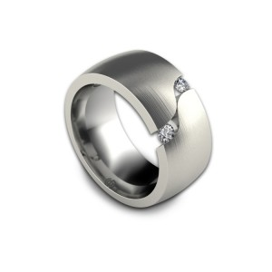 Erik Stewart's Zen ring captures the spirit of the style. It has a simple, austere beauty that speaks of peace.