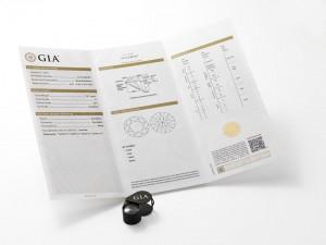 GIA Diamond Grading Report