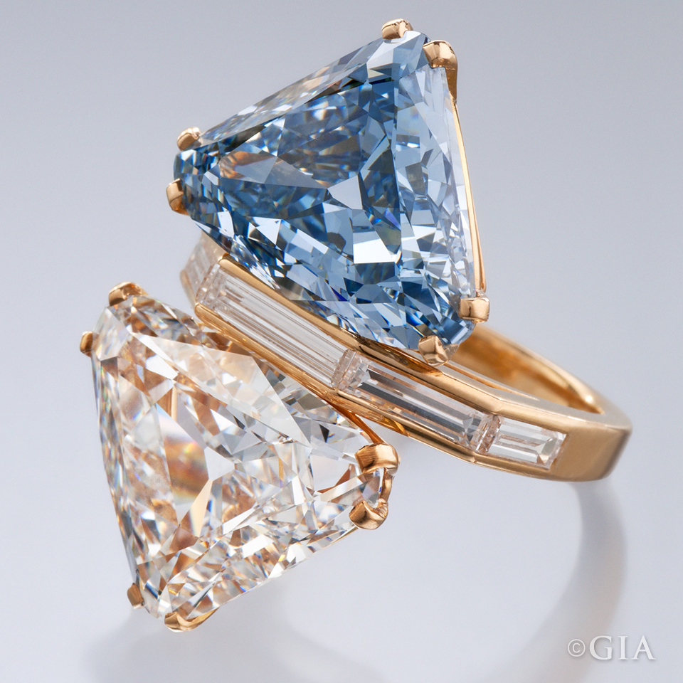 made color treatments has enhanced diamond fancy how diamonds bluediamond been blue are colored your