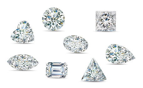 Diamonds Shape by Shape