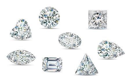 Diamonds Shape by Shape
