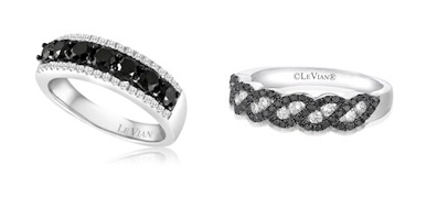LeVian diamond rings. Courtesy of D'Orazzio. Courtesy of D'Orazzio.