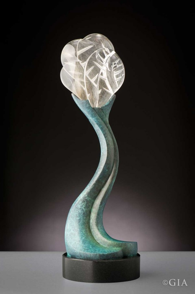 Perry Davis stone sculpture