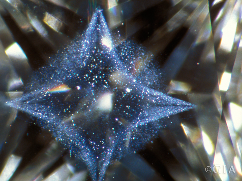 Inclusion-scene-Fiber-optic-star