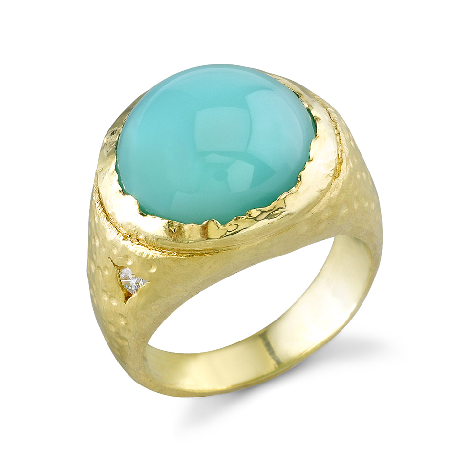 Peruvian-Opal-Ring