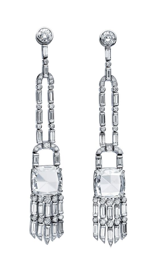 Killer diamond drop earrings