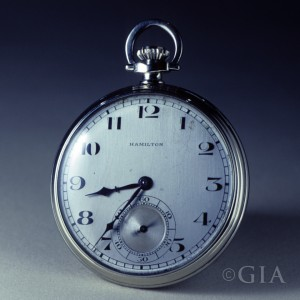 Something a little unorthodox but somehow classic. A simple pocket watch case for him. Photo: GIA