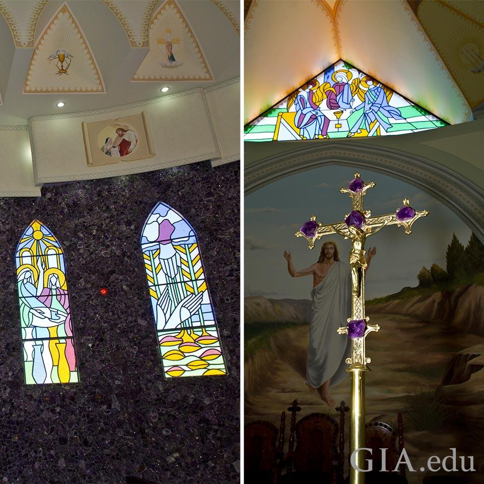 Matriz Church interior
