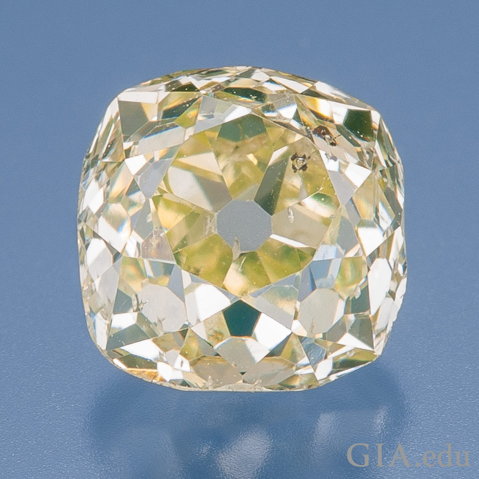 Old Mine Cut Diamond Timeless Romance