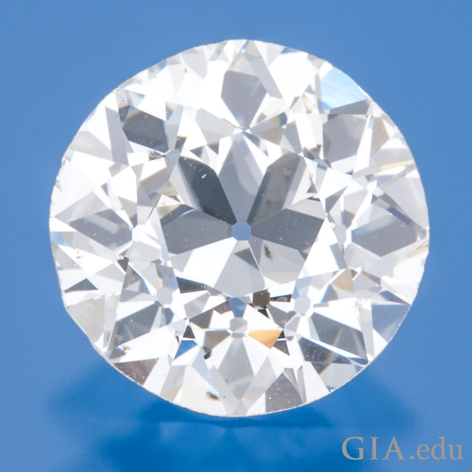 1.89 ct old European cut diamond