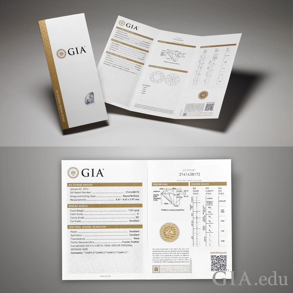 How to tell if a diamond is real how to tell if a diamond is real gia diamond grading report and gia diamond xflitez Image collections