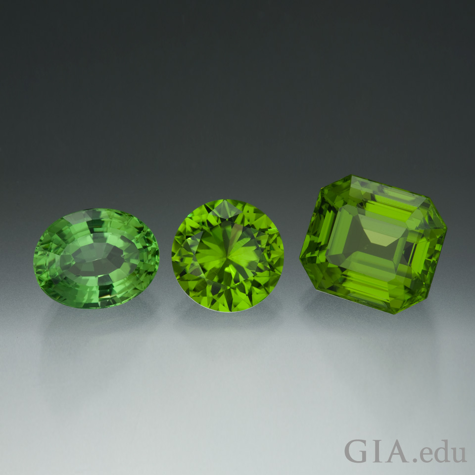 16th wedding anniversary gemstone peridot