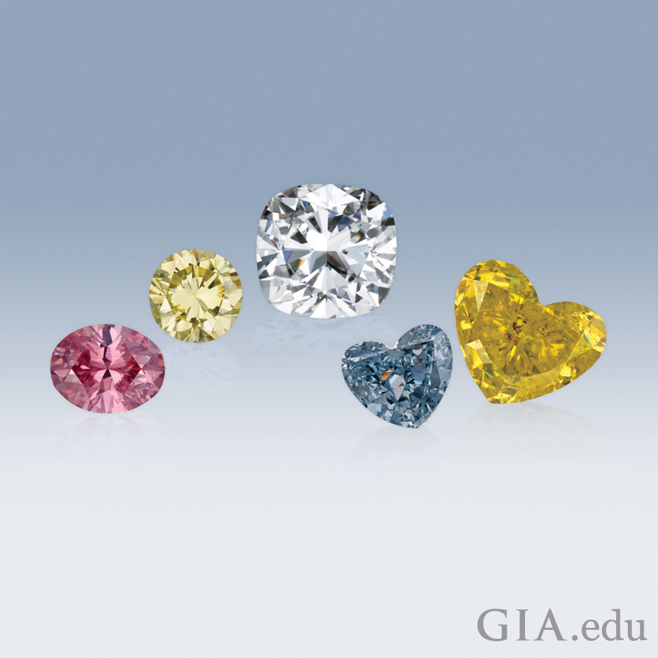 A range of diamonds