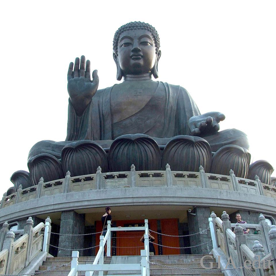 Statue of the Buddha in Hong Kong