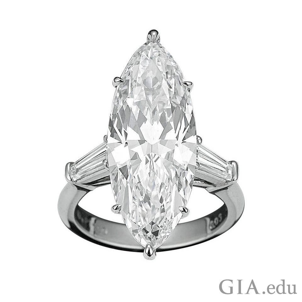 illustration graded sample color example clarity trilliant gia d in diamond carat diamonds