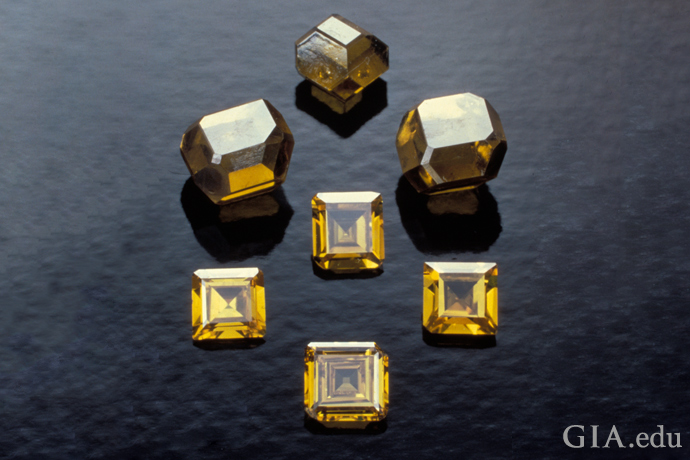 Decades ago, most HPHT synthetic diamonds were yellow or brown when grown. Now, most HPHT diamonds are colorless when grown.