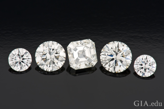 CVD synthetic diamonds display the same color and brightness of comparable quality natural diamonds.