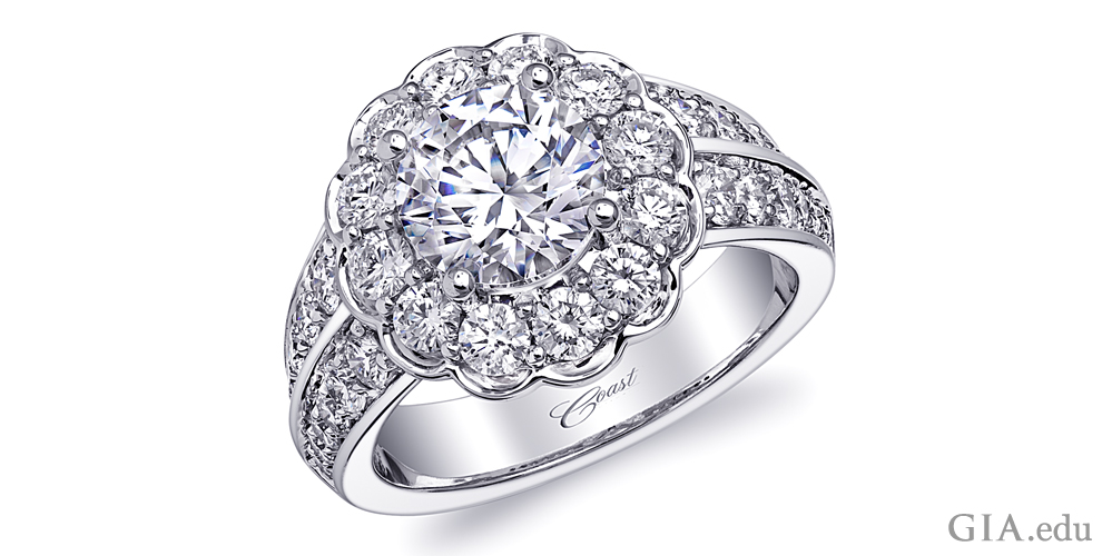 ring simulated engagement rings best diamond