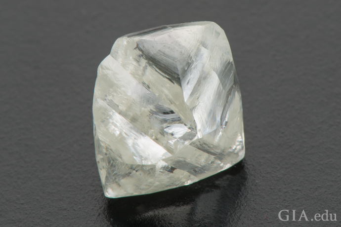 8.52 carat [ct] octahedral shape crystal