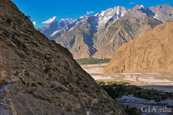 Pakistan's gem-rich Shigar Valley lies between foothills of the majestic Karakoram range.