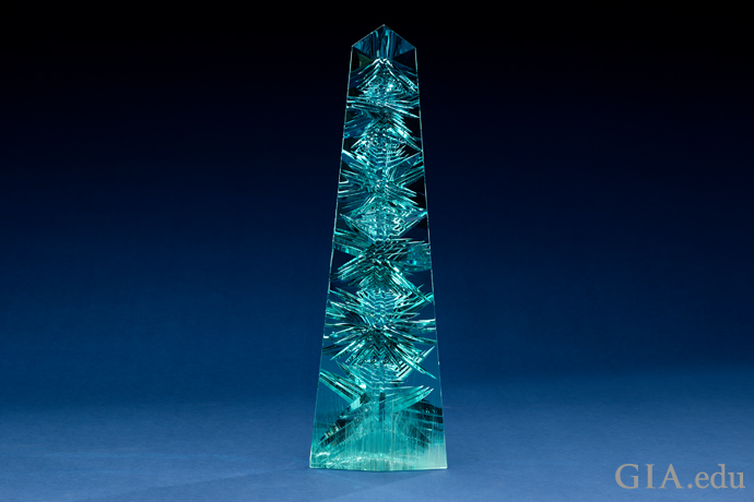"10,000+ carat Dom Pedro Aquamarine has been described as ""the one gem that can rival the Hope Diamond."""