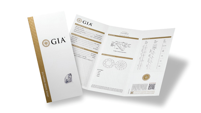 how to read a gia diamond certificate