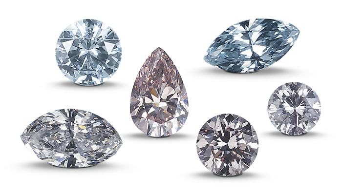 GIAの宝石の披露