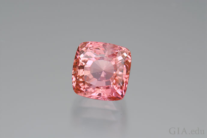 The spellbinding beauty of this 6.66 ct gem from Sri Lanka shows why padparadscha sapphires are so prized.