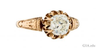 Rings of the Victorian era were rich in symbolism and alluring imagery.