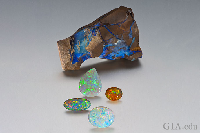 Opal's mesmerizing play-of-color makes it easy to fall in love with the gem.