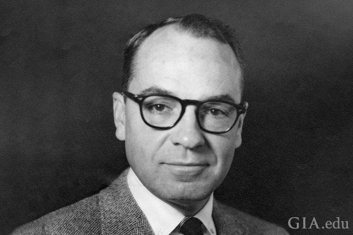 Richard T. Liddicoat, president of GIA from 1952 to 1983.
