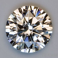 "A diamond displaying an ""Excellent"" cut grade."
