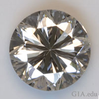 "This diamond displays a ""Poor"" cut grade."