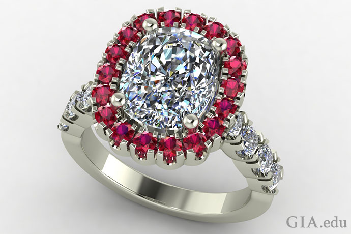 Create a custom-designed engagement ring that fit's your bride-to-be's style and taste.