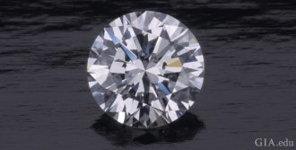 A 2.78 carat Internally Flawless round brilliant cut diamond