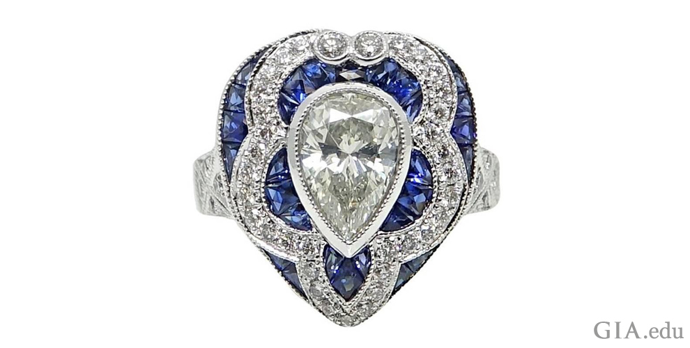 diamond rings gorgeous shaped the engagement gemstone pear ring