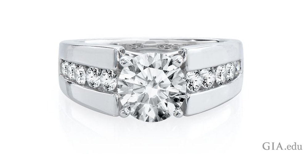 See How To Create Your Own Engagement Ring With The Magic Of Semi Mount Rings 4cs Of Diamond Quality By Gia
