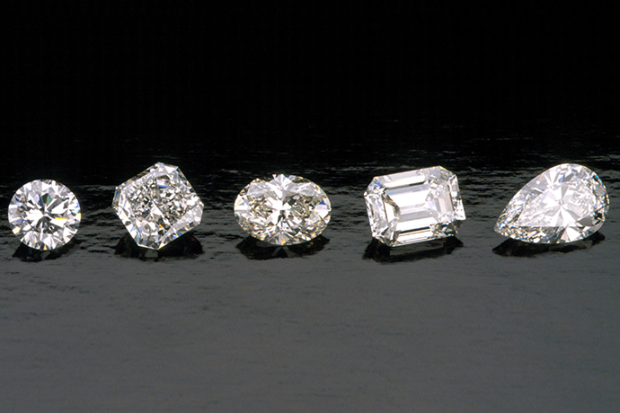 GからHのカラー ダイヤモンド