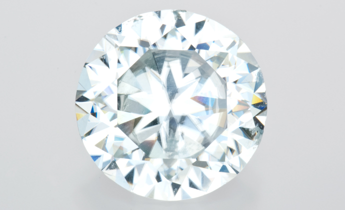 A zircon stone